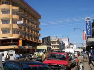 Nakuru city centre